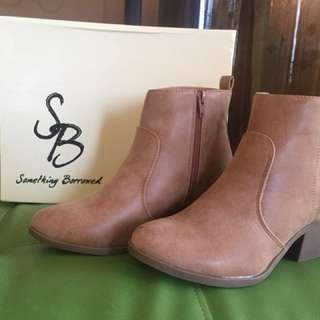 Something Borrowed Ankle Boots