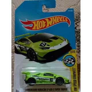 Hot Wheels Lamborghini Huracan LP620-2 Super Trofeo