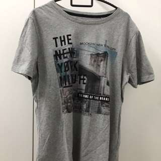 GRG Inc Grey Brooklyn T Shirt