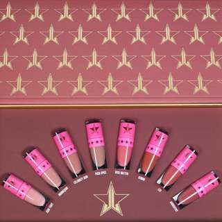 JEFFREE STAR Velour LiquidLipstick Mini's THE NUDES: VOLUME 1 NEW + AUTH FREE REGULAR POST
