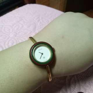 Gucci bangle watch