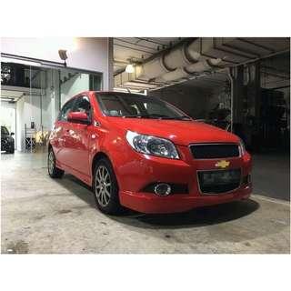 Chevrolet Aveo Hatchback 1.4 Auto 5dr