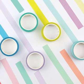 [Accessories #3] Basic Washi Tapes (large)