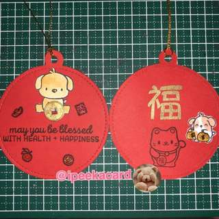 Handmade Chinese New Year tags