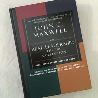 Charity Sale! Real Leadership: The 101 Collection by John C. Maxwell