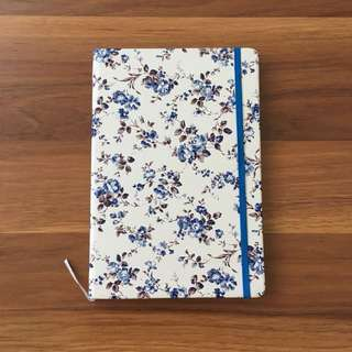Floral Leatherette Journal