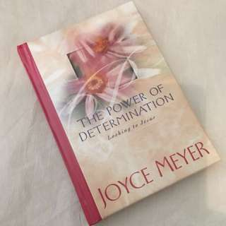 Charity Sale! The Power of Determination by Joyce Meyer