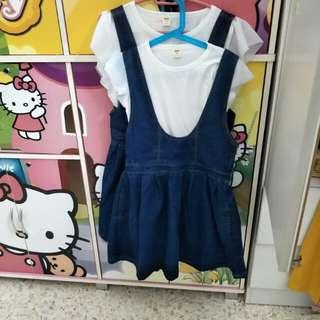 母女装(大人l size) 女儿可以到9岁