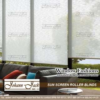Sunscreen Roll-up Blinds