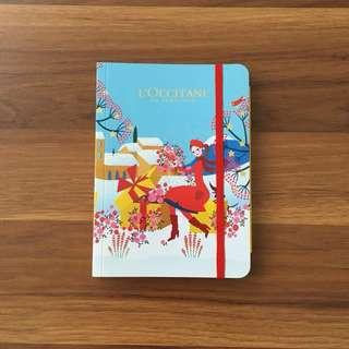 L'Occitane Notebook