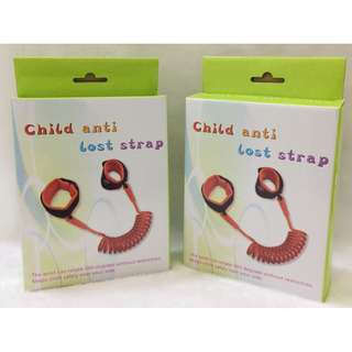 READY STOCK Child Safety Anti Lost Walking Hand Belt