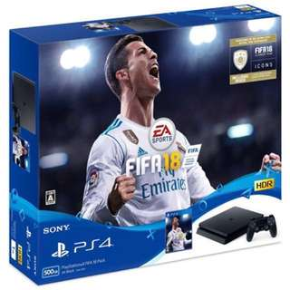 PS4 Fifa 18 Bundle