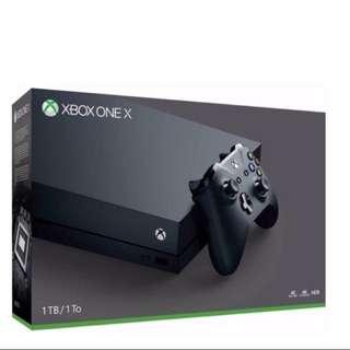 BNIB Xbox one x 1TB console
