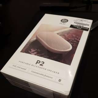 BNIB B&O P2 portable bluetooth speaker (fixed price)