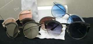 Kacamata wanita CHR*ST**N D**R  Sunglasses 1106  (12)*