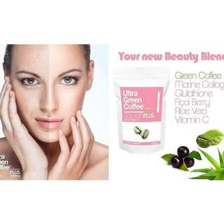 Ultra Green Coffee Collagen Plus