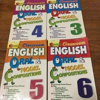 Casco Oral And Compo Books for Primary 3-6