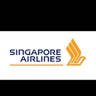 Singapore Airline business class ticket (SIN-JPN)
