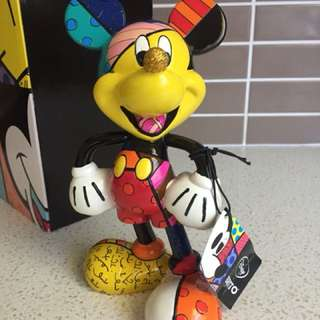 Disney By Britto Mickey Figurine