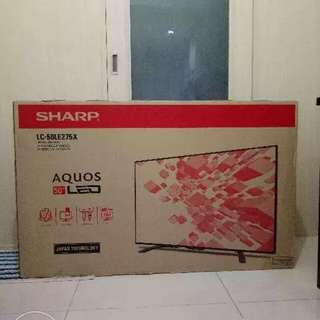 "50"" Sharp LED TV"