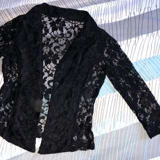 Lace jacket size 10