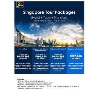 Singapore Tour Packages