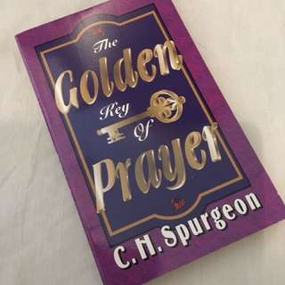 Charity Sale! The Golden key of Prayer by C.H. Spurgeon