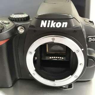 🚚 Nikon D40 單眼相機 功能正常