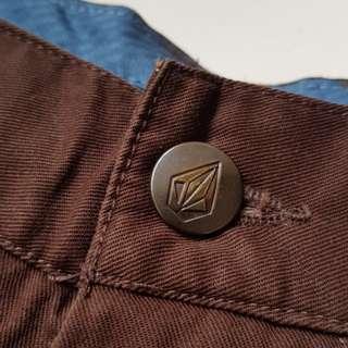 celana pendek volcom original sz 32 mulus