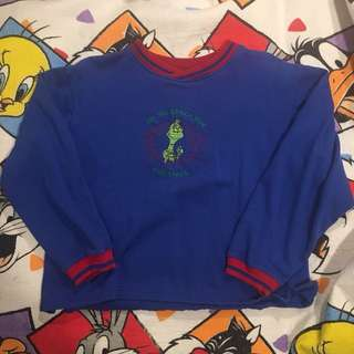 HOW THE GRINCH STOLE CHRISTMAS PULLOVER