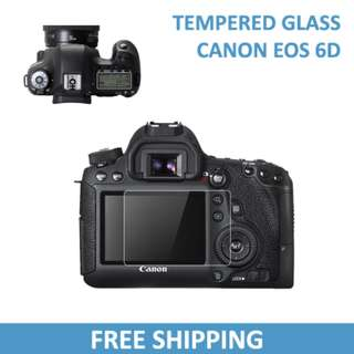 Canon 6D Tempered Glass Protector