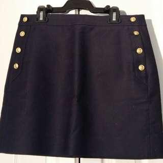 J crew sailor pencil skirt