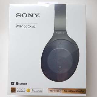 Sony WH-1000XM2 Wireless Noise Cancelling Stereo Headphones