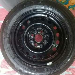 Spare tyre 175/65/14