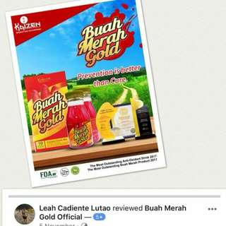 Buah Merah Gold Juice Drink