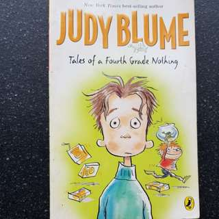 Tales of a Fourth Grade Nothing by Jufy Blume