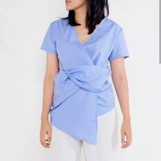 Wrap Babyblue Shirt