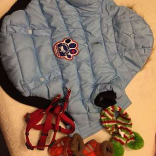 Canada pooch jacket and accessories