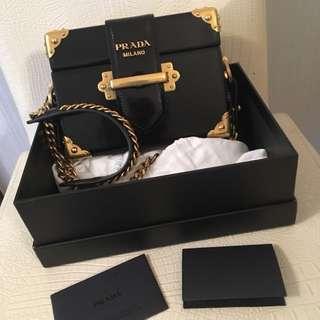 Prada Cahier box bag
