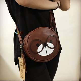 Bear Design Sling Bag