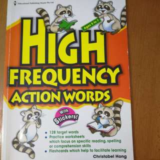 EPH high frequency action words