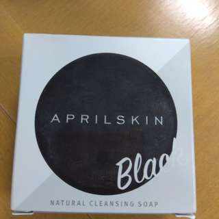 Aprilskin signature soap black
