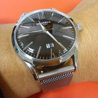CORNELL 復古石英錶