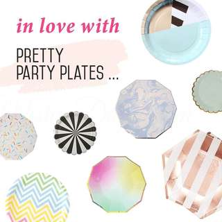 Party Paper Plates / Cup / Napkins
