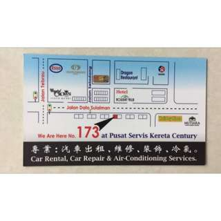 Johor JB Car Rental/Kereta Sewa Services (located at nearby KSL)