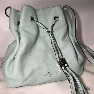 Kate Spade Bucket Bag in Mint Green