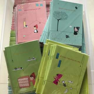 169pc notebooks $25