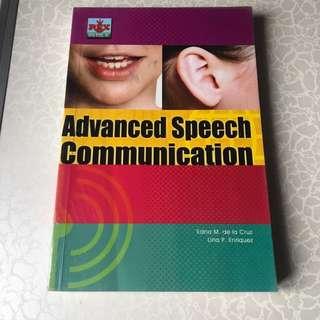 Advanced Speech Communicaion