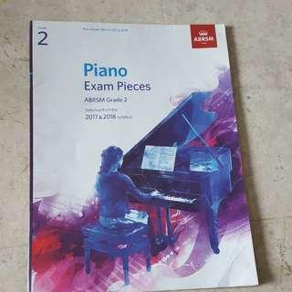 Abrsm piano books grade 1 grade 2