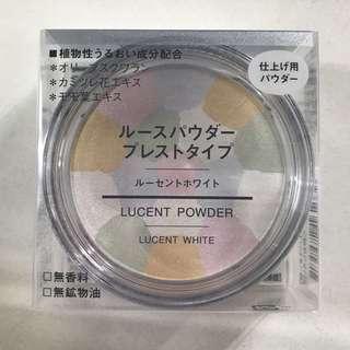 Muji loose powder pressed type (lucent white)